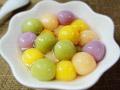 豆香水果汤圆