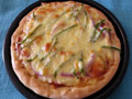 家庭版火腿披萨