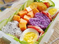 爱心寿司和鲜果蔬