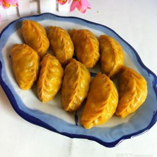 胡萝卜蒸饺