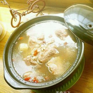 薏米红豆山药排骨汤