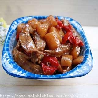 麻辣土豆焖翅尖