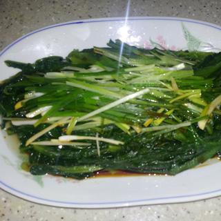 葱油油麦菜