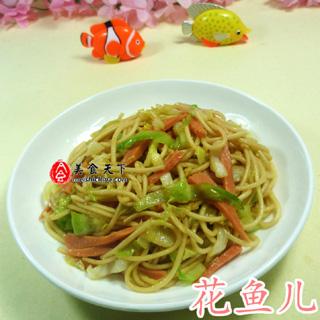 火腿肠圆白菜炒