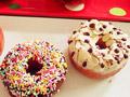 传统油炸面包甜甜圈