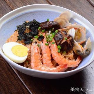 锅巴海鲜饭