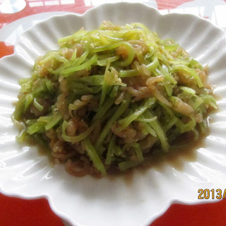 海蜇拌窝苣