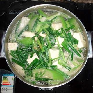 水瓜鱼腩豆腐汤