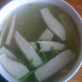 骨头金针菇豆腐汤