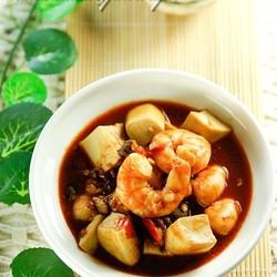麻婆豆腐虾