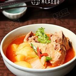 韩式土豆酱汤