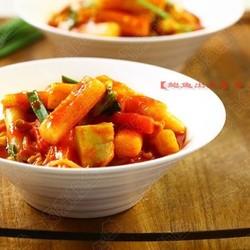 韩式素炒年糕