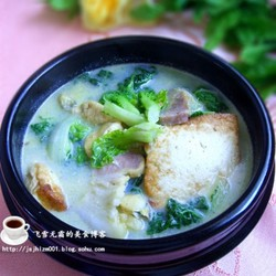 咸肉炖豆腐