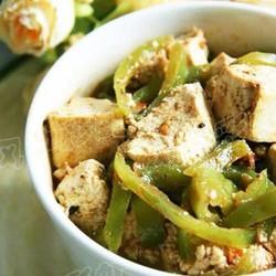 尖椒辣豆腐