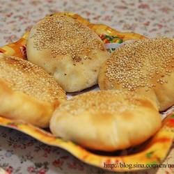 传统山东肉烧饼