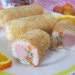 日式炸饭团