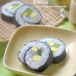 绿茶水果寿司