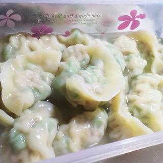 小清新四季豆饺子