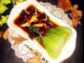 浇汁香菇油菜