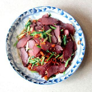 小炒腊牛肉