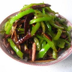 徽茶干青椒肉丝