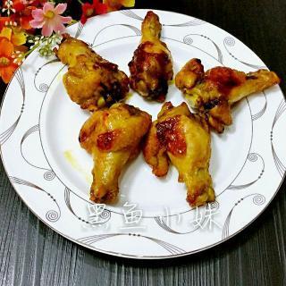 咖喱烤鸡腿