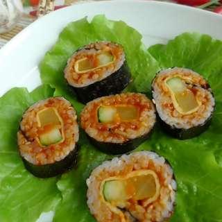 韩式辣酱寿司