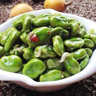 蒜香嫩蚕豆