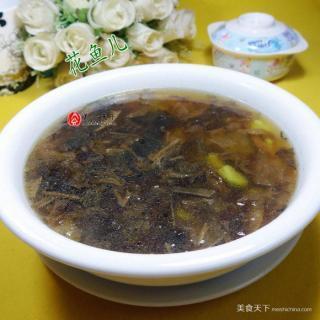 梅干菜蚕豆汤