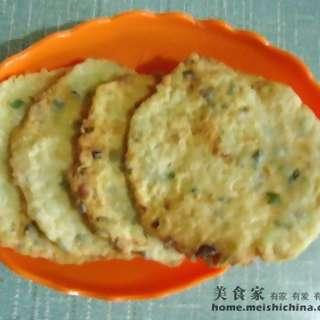 香酥蚕豆饼