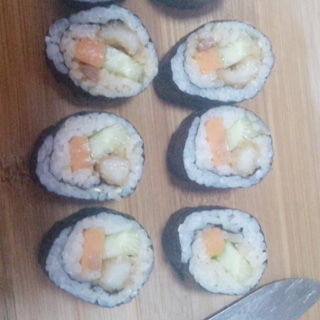 黄豆酱寿司