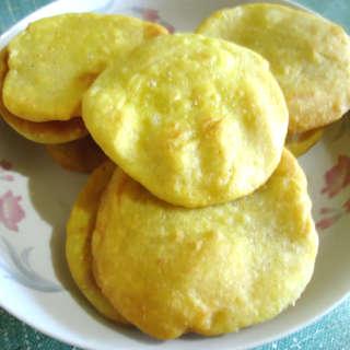 奶香玉米酥饼