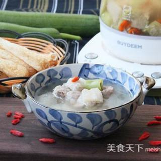 丝瓜竹荪汤