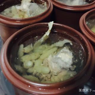 麦冬玉竹炖龙骨