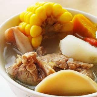 玉米杂蔬排骨汤