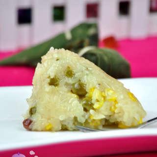 豌豆玉米粽子