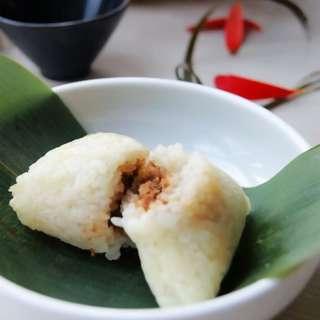 豆沙枣粽子