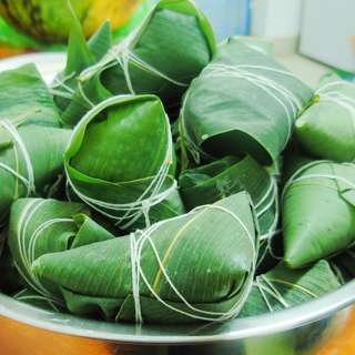 大红豆粽子