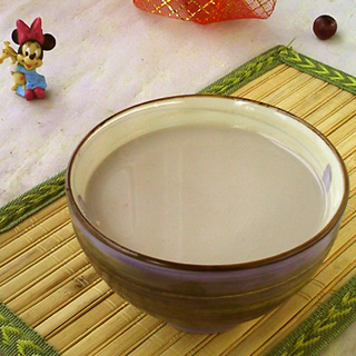 薏米莲子豆浆