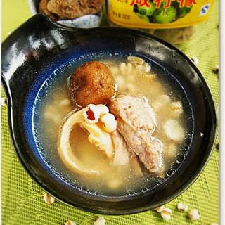 咸柠檬薏米老鸭汤