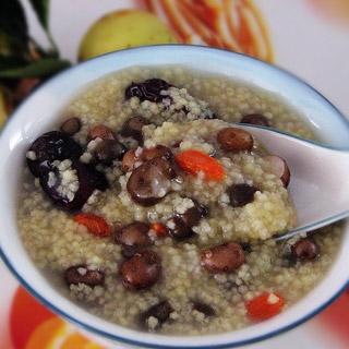 山药豆小米粥