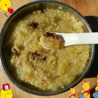 大枣红薯小米粥