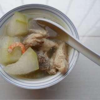 冬瓜虾米猪骨汤