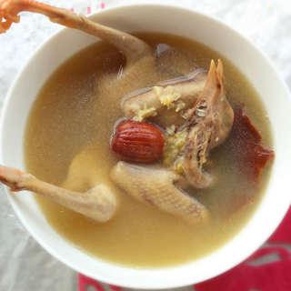陈皮绿豆鸽子汤