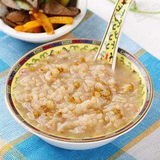 糙米绿豆粥