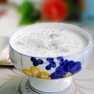 椰汁香芋西米露