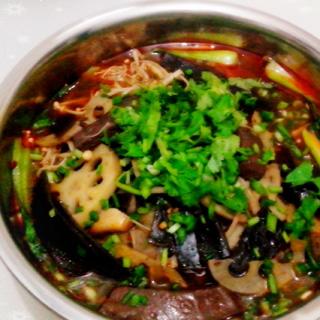 素菜小火锅