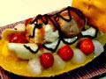慕斯香蕉船冰淇淋