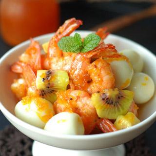 甜蜜凤尾虾