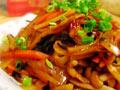 素菜也很美味鱼香素丝